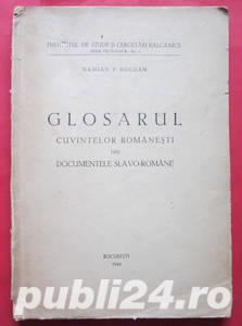 Glosarul cuvintelor romanesti din documentele slavo-romane, Damian P. Bogdan, 1946