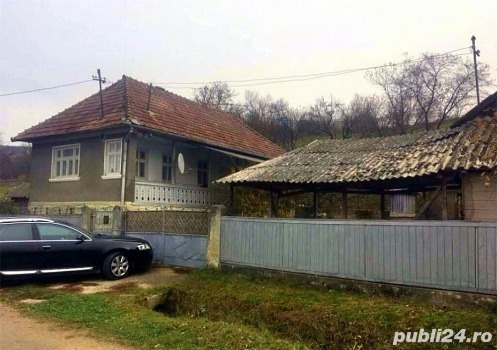 Casă la țară cu grădină în comuna Bobâlna, Cluj