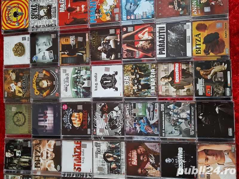 Vand colectie rară de cd uri originale si nefolosote de Hip Hop Rap