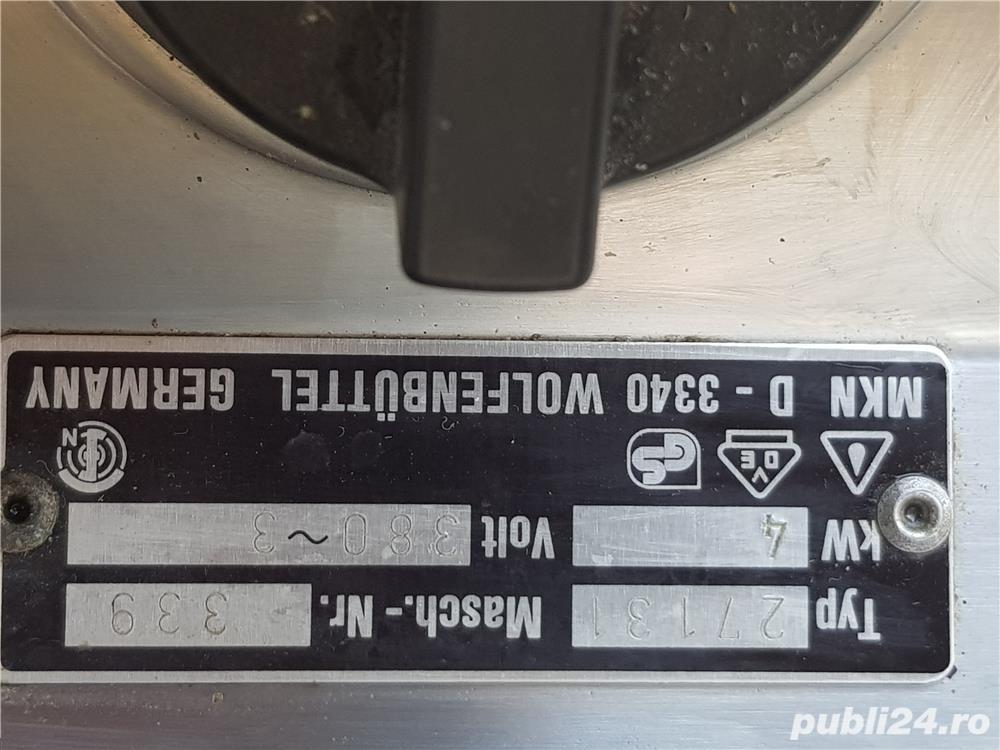 Plita MKN 380 V 4 KW