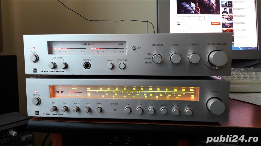 Vintage Dual CV450M + CT450M