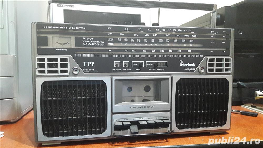 Boomboxuri vintage ITT, Starvox, pret pe bucata
