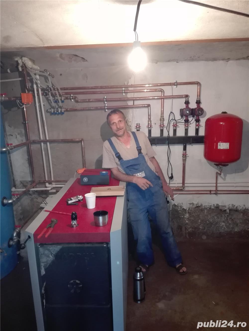 Instalator apa canalizare Bistrita