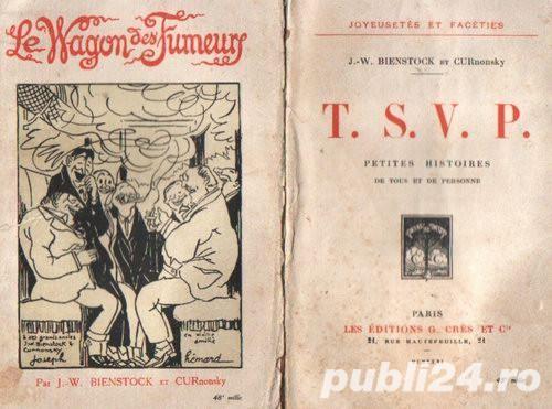 Le Wagon des Fumeurs +TSVP de Bienstock & Curnonsky (1925-6)