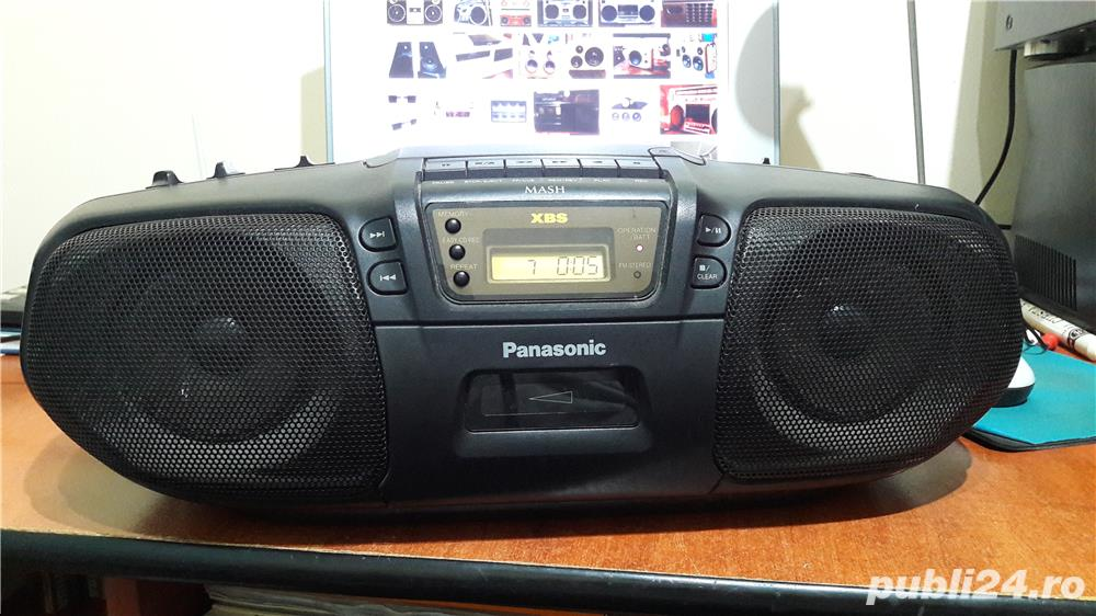 Panasonic RX-DS15 stereo cd system MASH