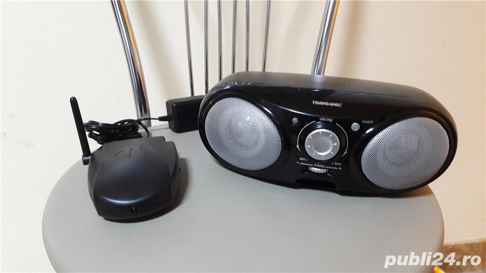 Transonic FB-3014 portable USB wireless speaker box ( pret pe bucata)