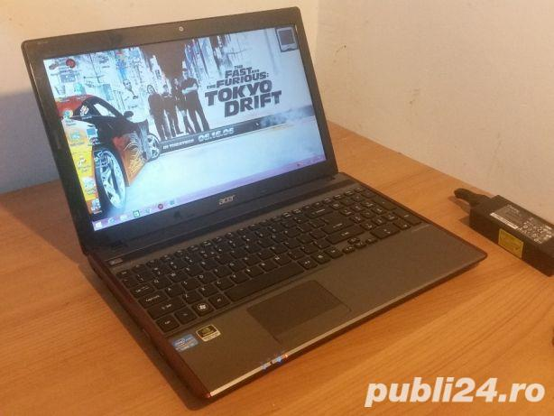 Laptop ACER 5755G i5 Quad Core 8GB 2Placi Video 2GB 15,6 led GAMING