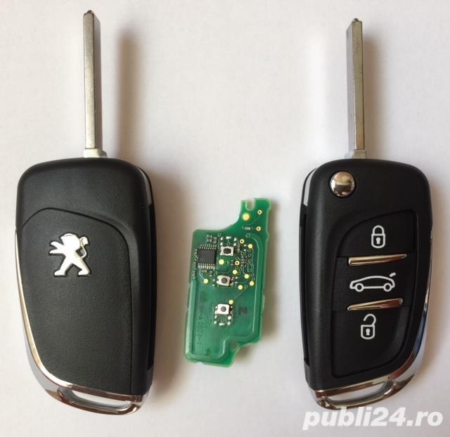 carcasa cheie Peugeot  508  308  207 307 407