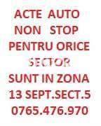 ACTE AUTO NON STOP SECTOR 5,CONTRACTE V/C,FISA DE INMATRICULARE,SCHIMBARE NUME,ADRESA,DOSAR COMPLET!