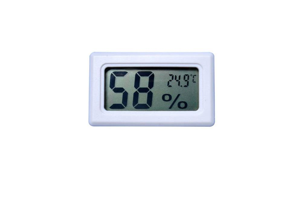 Termometru digital rezistent la apa - alb . Tip: Termometru interior, exterior