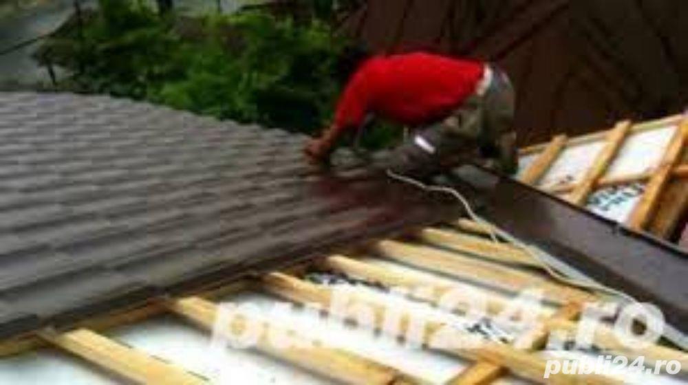 Echipa realizam constructii acoperisuri -amenajarii si case de la zero