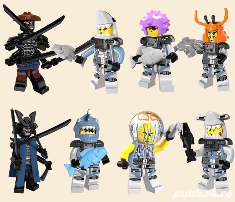 Set 8 Minifigurine tip Lego Ninjago Movie (set2)