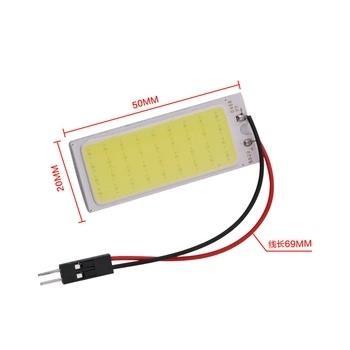 Car led Super Bright White 8W COB 36 Chip LED 18 led Car Interior