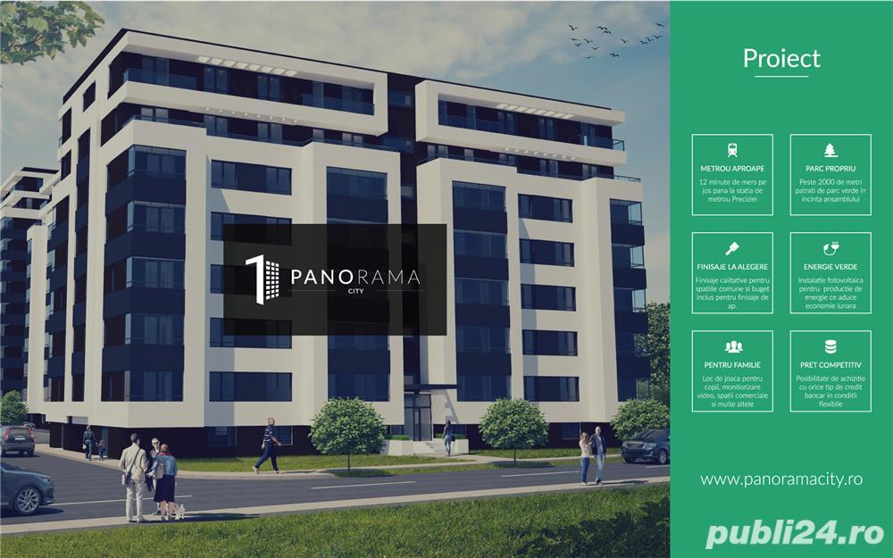 Apartament 2 cam in complex premium Panorama City 1 Militari