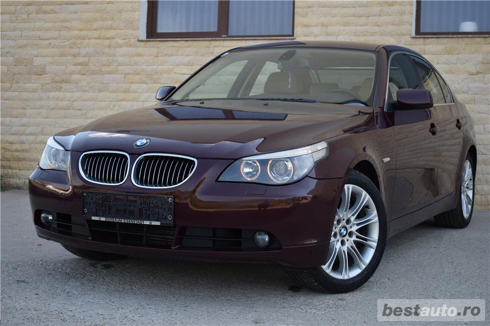 Vand BMW 530xd E60 231cp 4x4 xDrive Ventilatie HeadUpDisplay Navi Mare