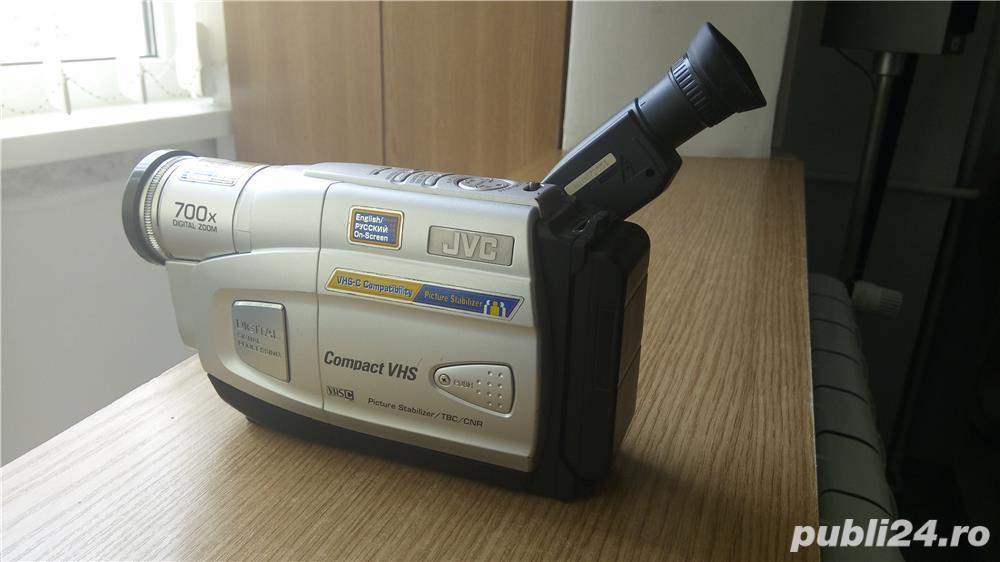 Camera video JVC, cu caseta