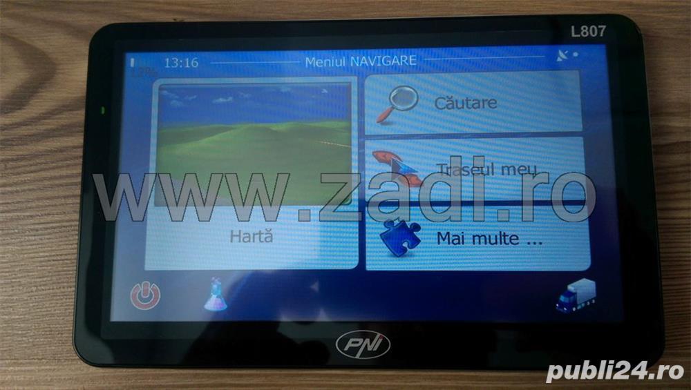 GPS nou TIR, cu garantie si factura + 4 softuri iGO +harti actualizate