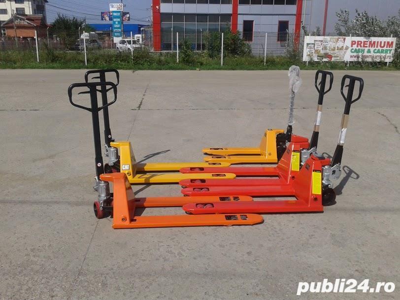 Transpalet manual hidraulic de 2 tone, 2.5 tone, 3 tone 490 RON