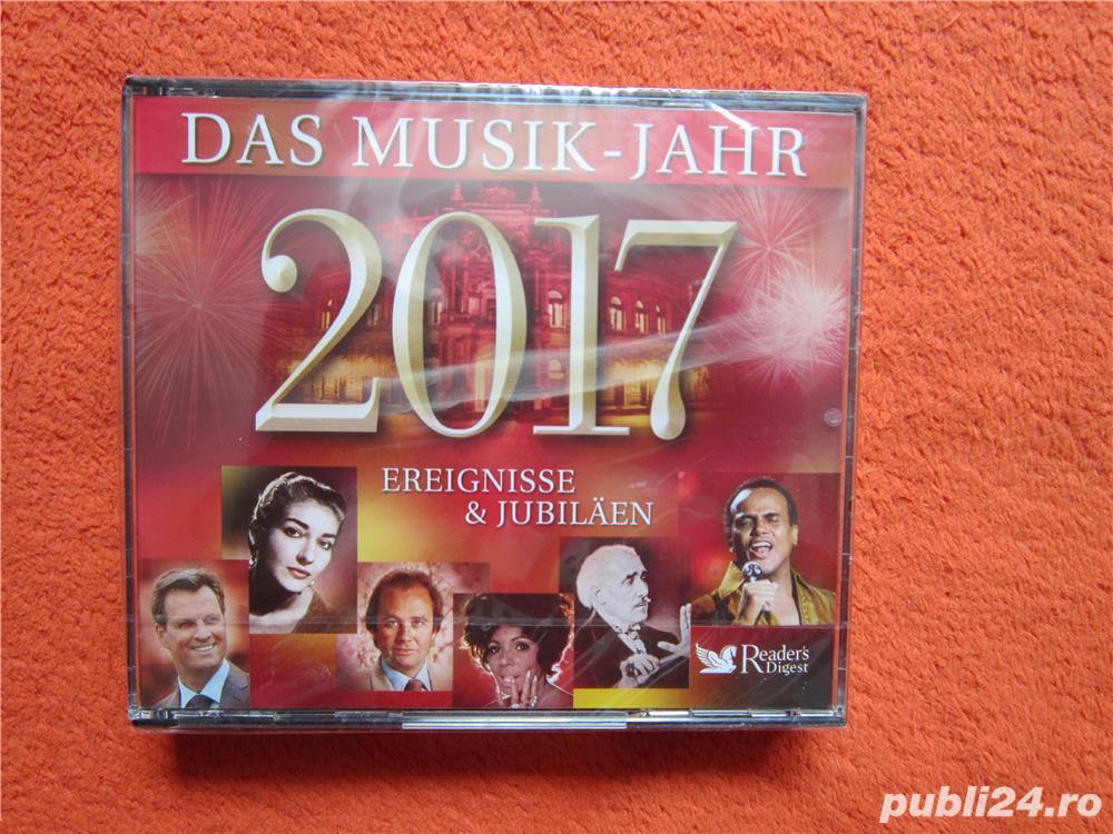 cadou deosebit 3xCD-Das Musik-Jahr 2017- Ereignisse & Jubilaen-Reader's Digest-sigilat