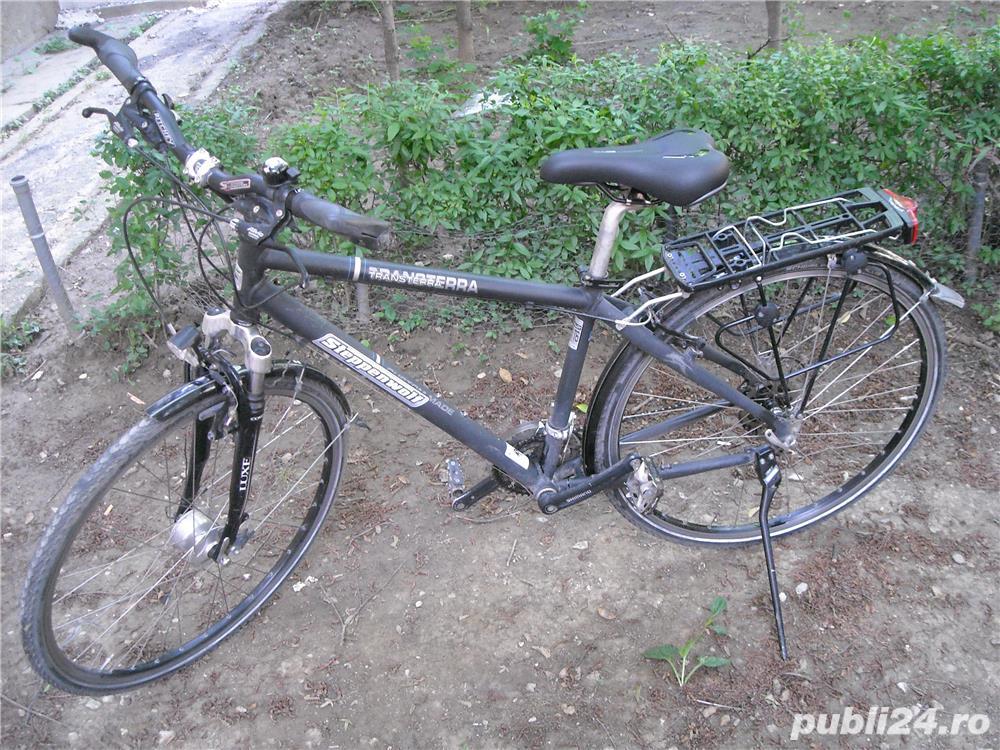 """Bicicleta Steppenwolf Transterra 28"""" cu 24 viteze"""