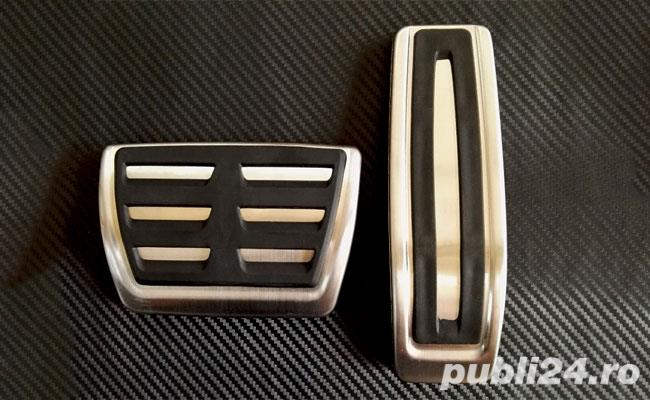 Ornamente inox pedale - VW Touareg (2002-2018) / Audi Q7 (2005-2015)