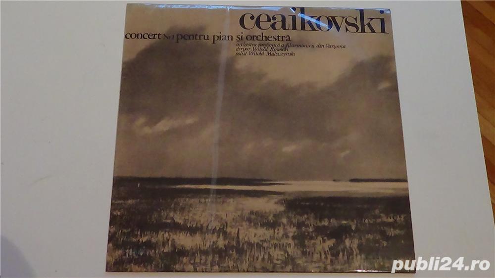 Discuri vinil P.Tchaikovsky, George Gershwin