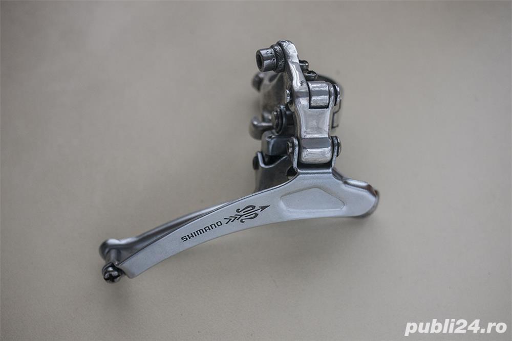 Schimbator fata Shimano 105 Golden Arrow, pentru bicicleta cursiera