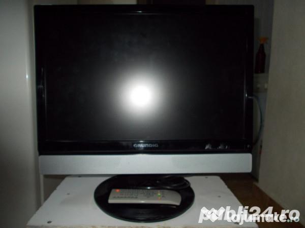 TV grundig49cm,tnthd,hdmi,100hz,dvbt,220/12v,stand telescopic rabatabil,ev.ramburs posta
