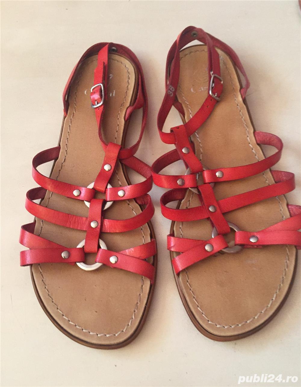 Sandale italienesti din piele
