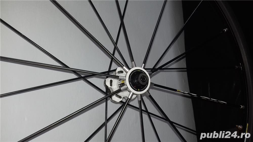 Roata  cursiera carbon mavic r-sys