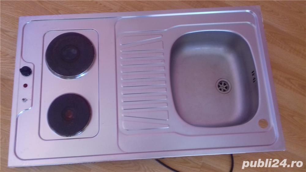 Plita electrica + Chiuveta inox
