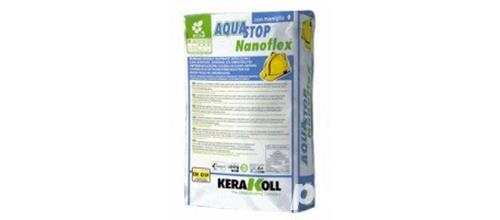 Hidroizolatie pentru terase si piscine - Kerakoll Aquastop Nanoflex