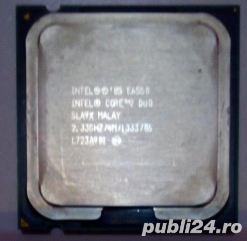 Intel Core 2 Duo Processor E6550,4mb Cache,2,33 GHz,1333MHz FSB,Socket PLGA775
