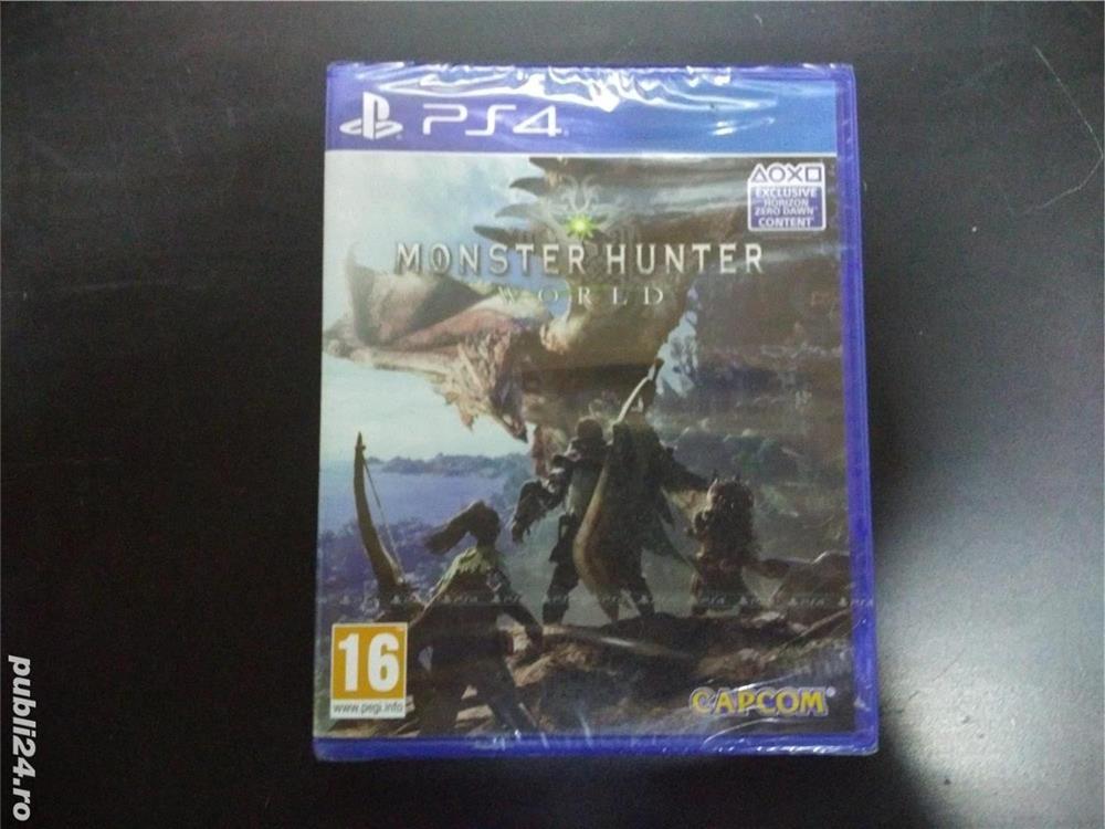 Joc PS4 Monster Hunter World (sigilat)
