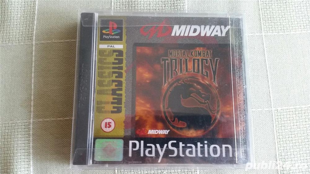 joc MORTAL KOMBAT TRILOGY  , PS1 , playstation 1 ,colectie