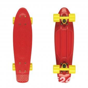 Fish Cruiser - skateboard Red/Red Yellow/Yellow