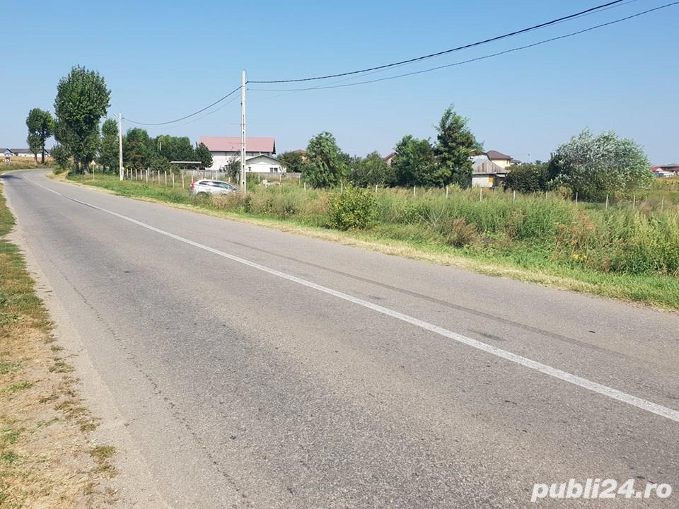 Teren 10000 MP Miroslava intravilan ( Valea Ursului )cu deschidere la DN 50 ml