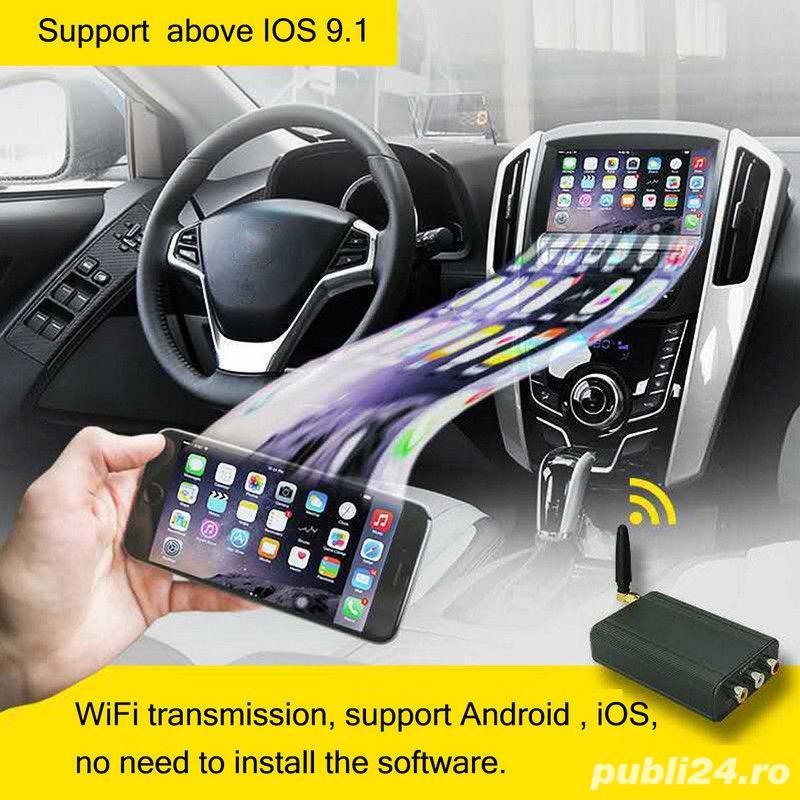 Mirror Link-redarea ecranului telefonului pe ecranul masinii