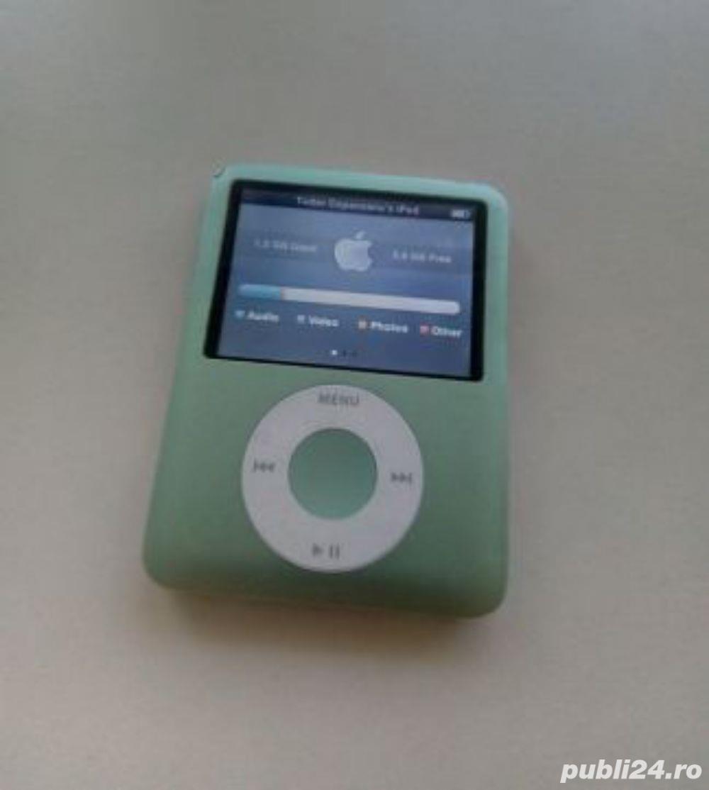 Vand Apple iPod Nano 3rd gen 8GB poze reale [VERDE]