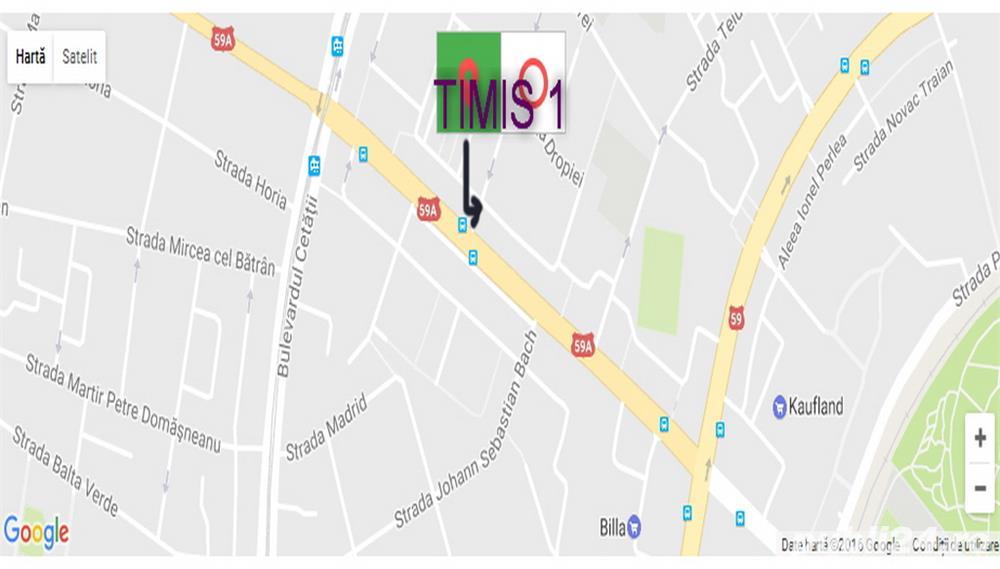 CENTRAL ap.3 cam+garaj+Boxa Timisoara 80mp unicat