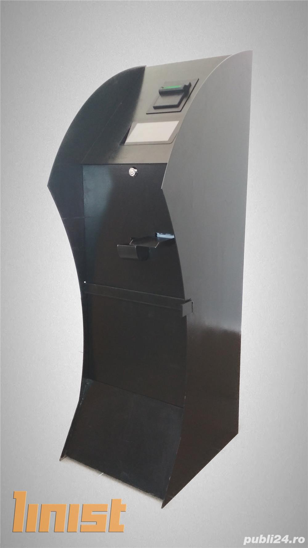 Automat distribuitor de fise pentru spalatorii auto