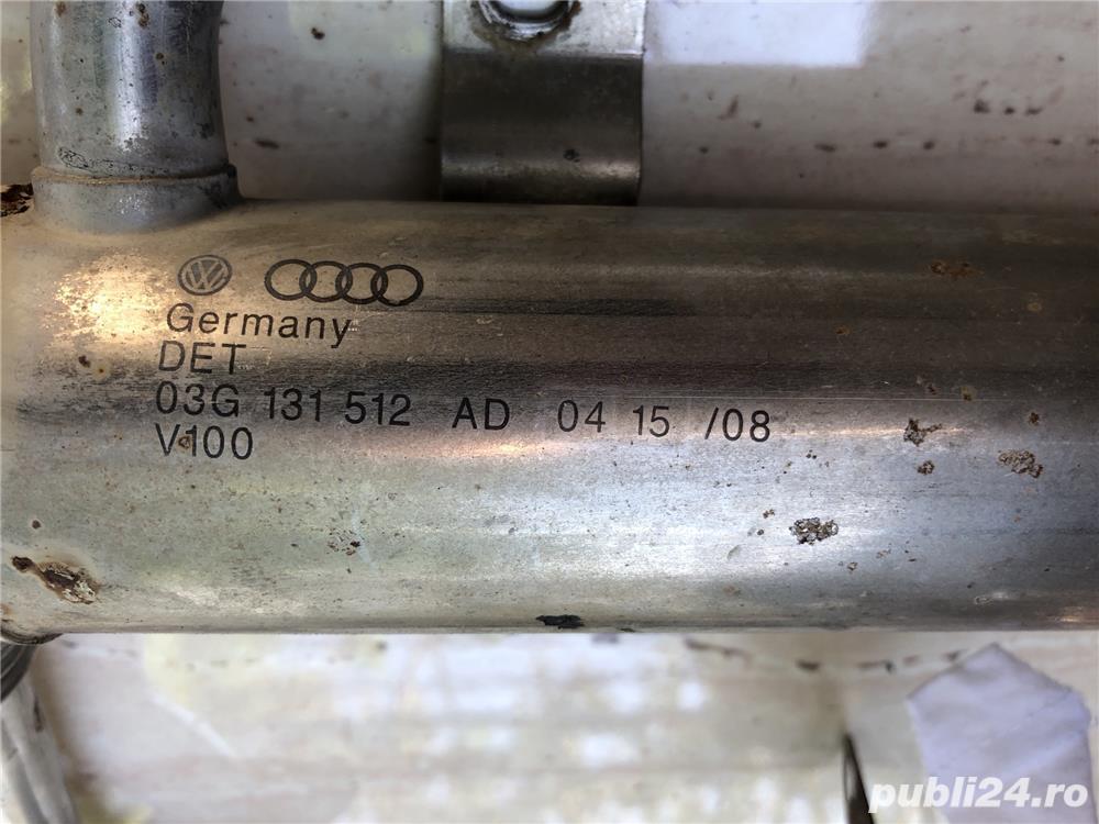 Racitor gaze VW Caddy 1.9 TDI 105 cai motor BLS cod 03G131512ad