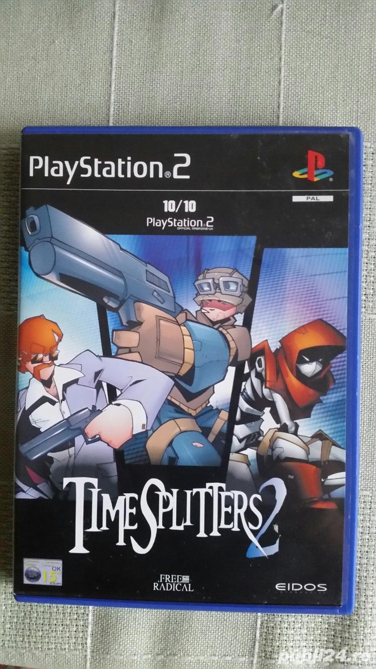 joc colectie playstation 2 , TIMESPLITTERS 2 , PS2