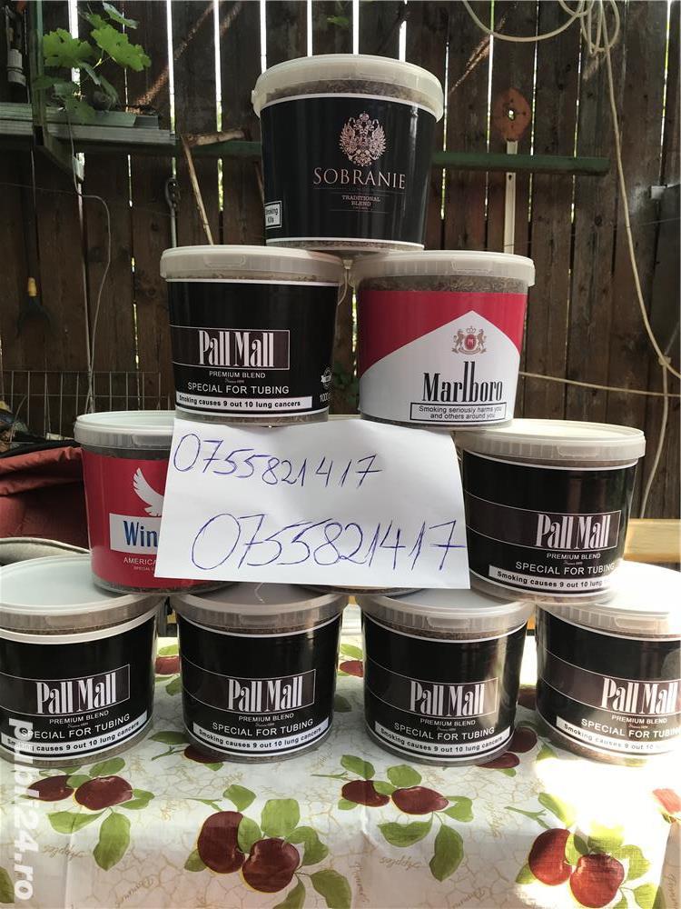 Tutun firicel sigilat etichetat la galetusa de 1 kg exact ca in poza .