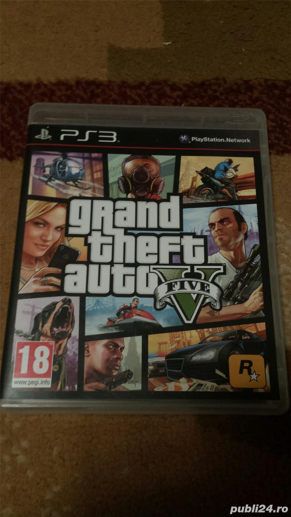 joc ps3 GTA 5 ,playstation 3 ,ca nou