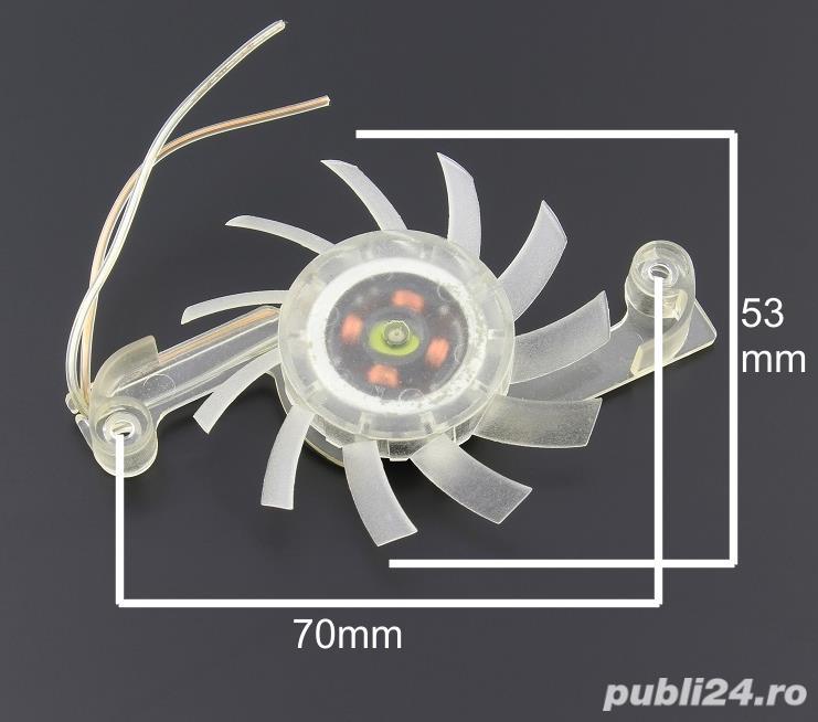 Ventilator 53mm, alimentare 5V DC