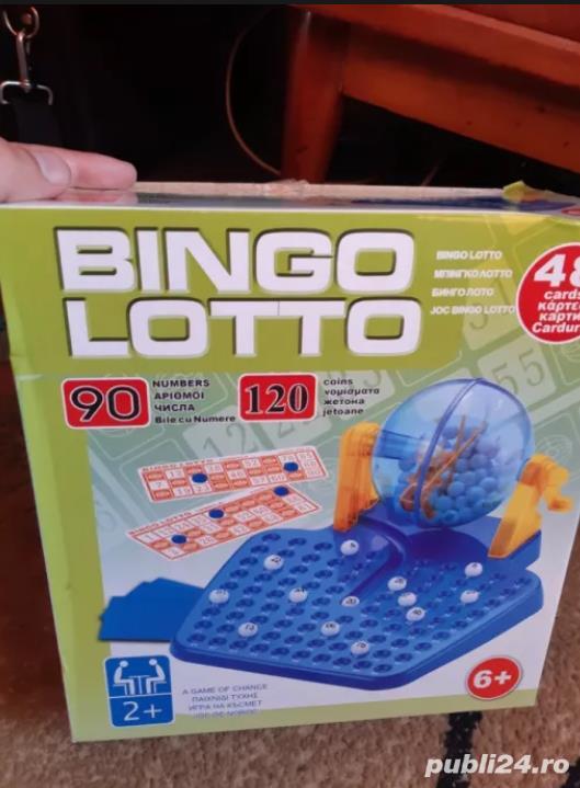 Joc interactiv de familie Bingo