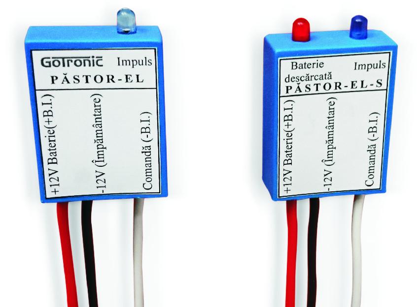 Generator de impulsuri pentru gard electric  PASTOR-EL(S)