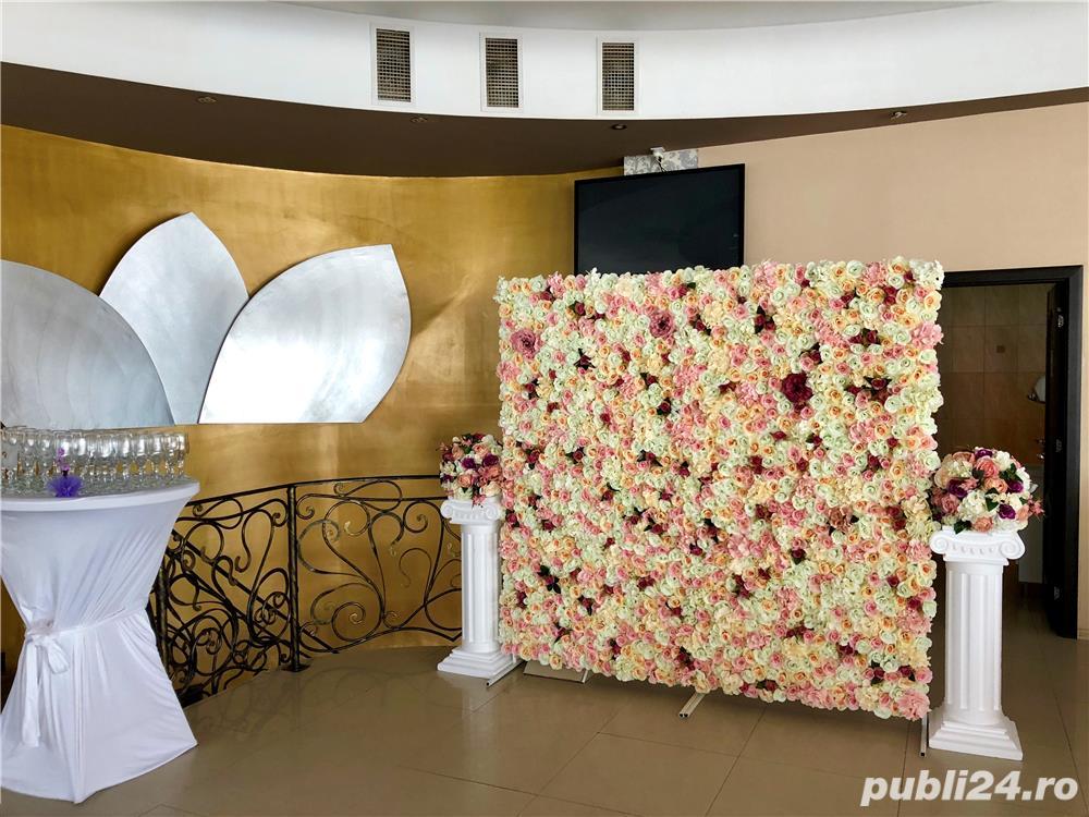 Aranjamente Florale Panou Floral Nunta Botez Giurgiu Bellagio