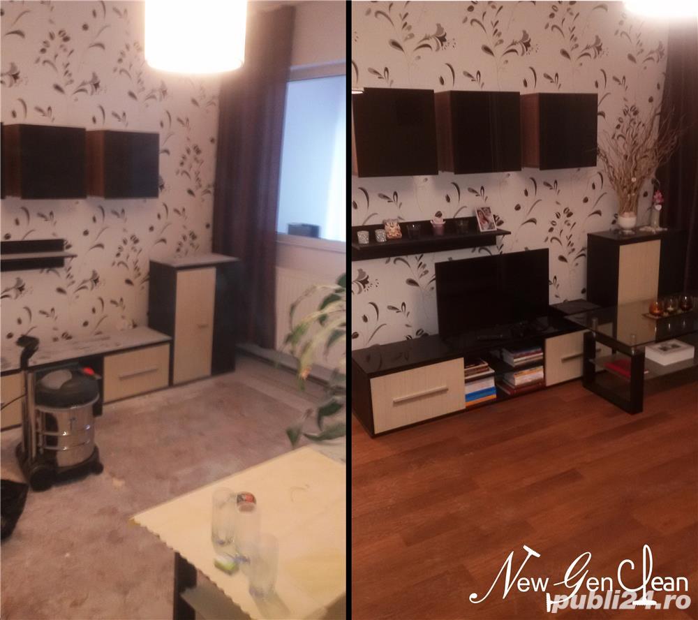 Curățenie apartamente, case, vile